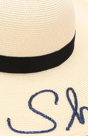 Шляпа Bunny Eugenia Kim кремвого цвета   Фото №3