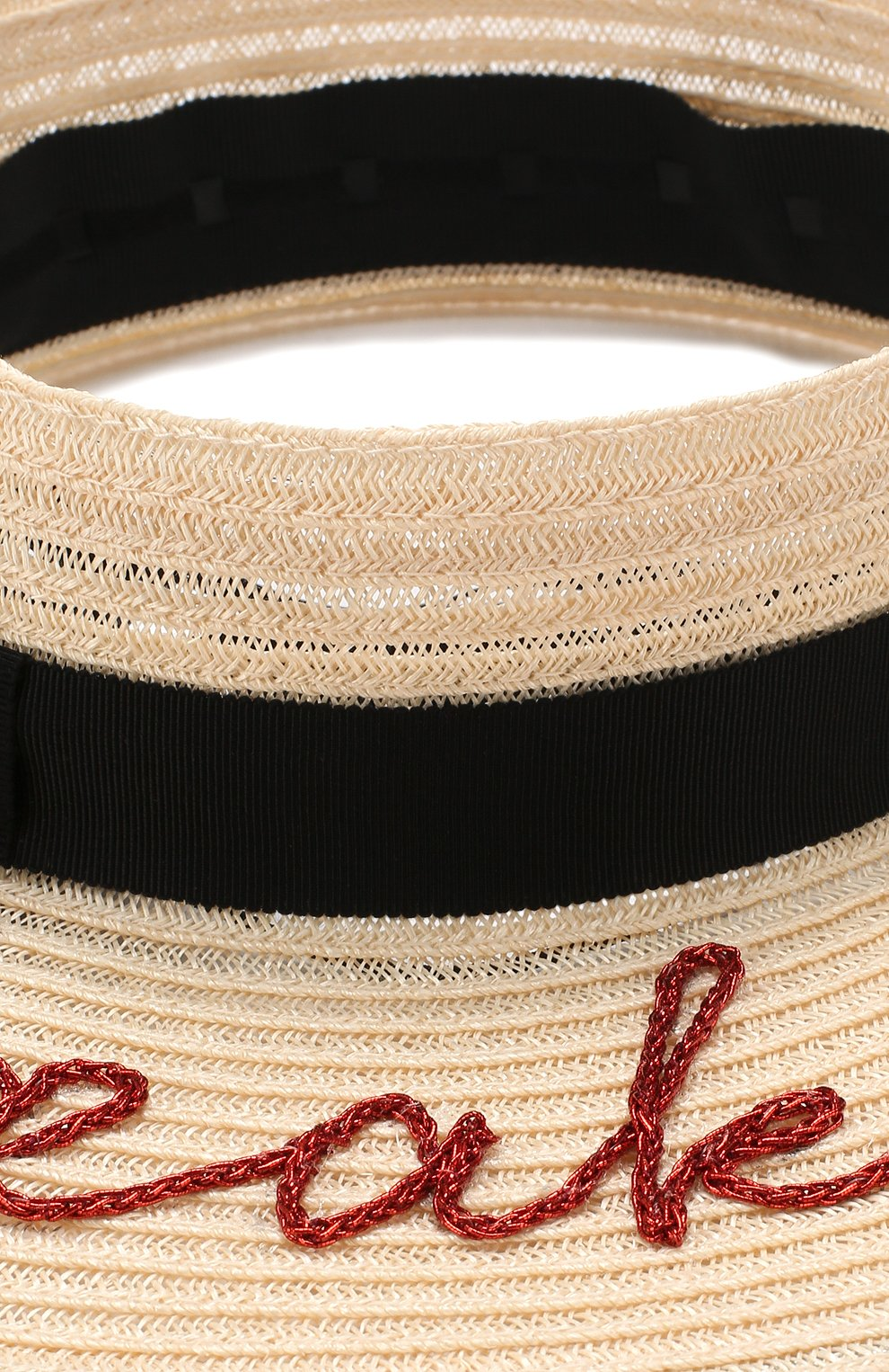 Шляпа Lettie  Eugenia Kim кремвого цвета   Фото №3