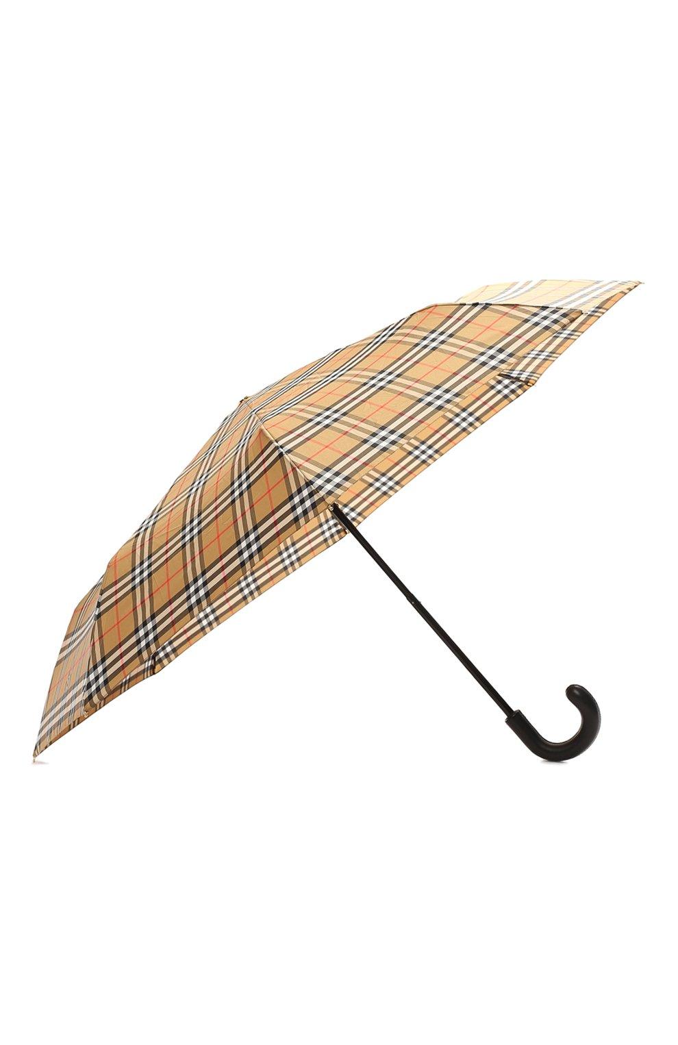 Складной зонт Burberry разноцветный   Фото №2