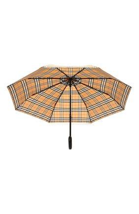 Складной зонт Burberry разноцветный   Фото №3