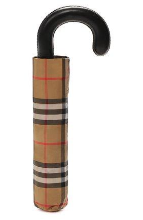 Складной зонт Burberry разноцветный   Фото №4