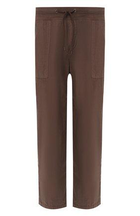Мужской хлопковые брюки JAMES PERSE хаки цвета, арт. WPR1835 | Фото 1