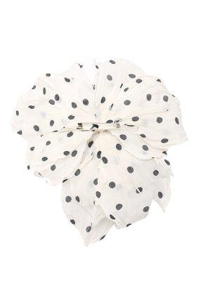 Мужская брошь FLOWER ME белого цвета, арт. PION-NS004005L | Фото 2