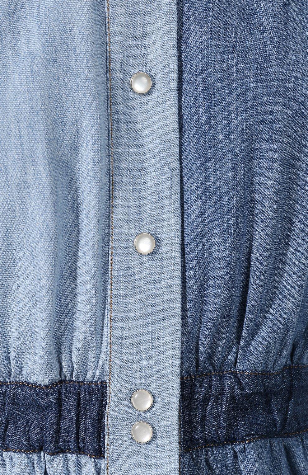 Джинсовое платье   Фото №5