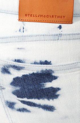 Джинсы Stella McCartney голубые | Фото №5