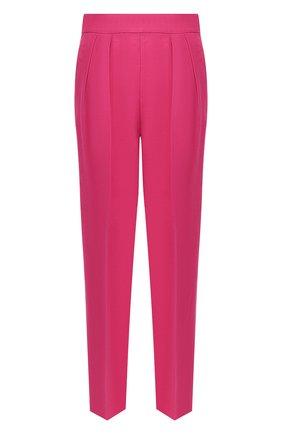 Льняные брюки Theory фуксия | Фото №1