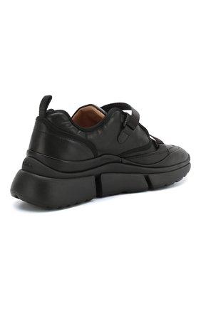 Комбинированные кроссовки Sonnie Chloé черные   Фото №4