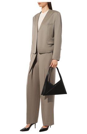 Женская кожаные туфли gianvito 85 GIANVITO ROSSI черного цвета, арт. G24580.85RIC.VITNER0   Фото 2
