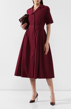 Женская кожаные туфли gianvito 85 GIANVITO ROSSI бордового цвета, арт. G24580.85RIC.VITR0YA | Фото 2