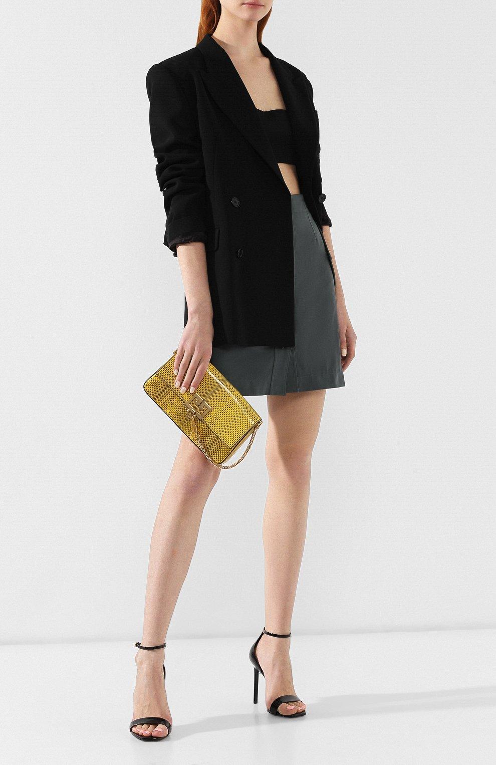 Сумка Charm Givenchy желтая цвета | Фото №2