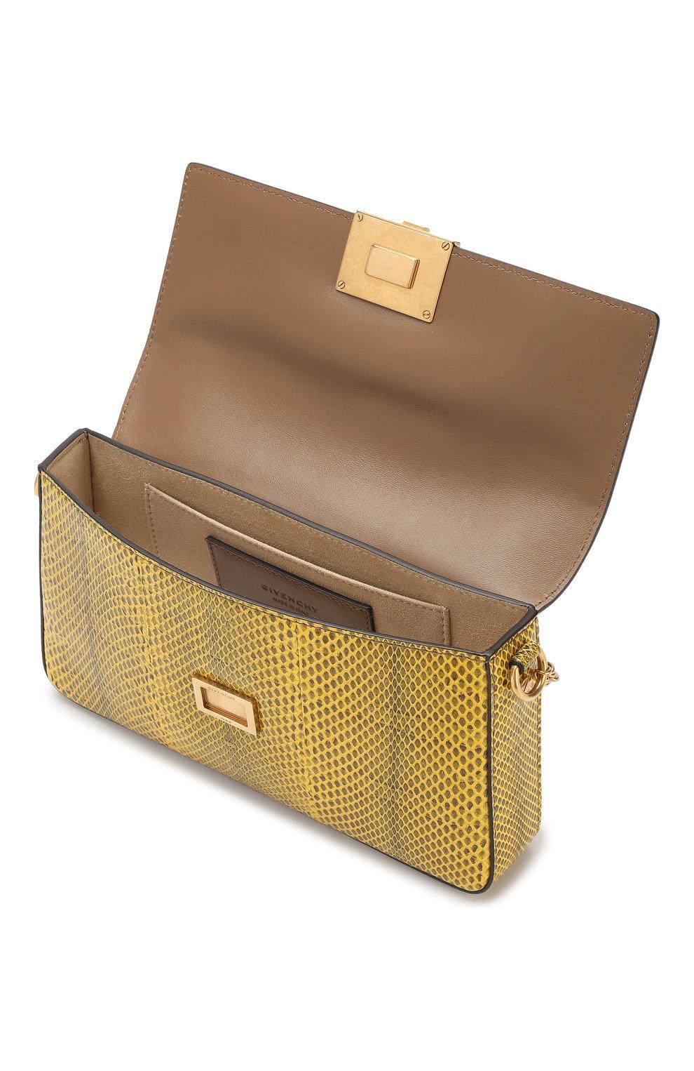 Сумка Charm Givenchy желтая цвета | Фото №4