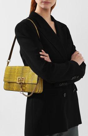 Сумка Charm Givenchy желтая цвета | Фото №5