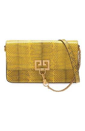 Сумка Charm Givenchy желтая цвета | Фото №6