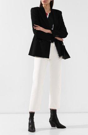 Женские кожаные ботильоны AGL черного цвета, арт. D239530BEK60671013 | Фото 2