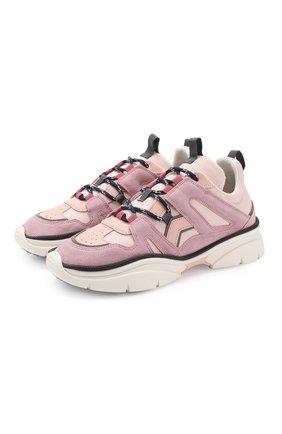 Комбинированные кроссовки Kindsay | Фото №1