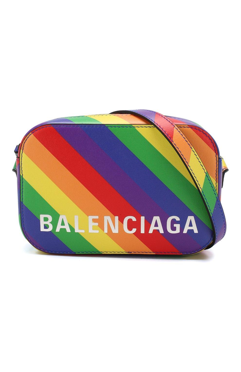 Сумка Ville Camera XS Balenciaga разноцветная цвета | Фото №5