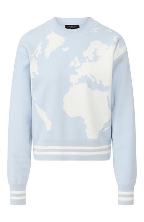Хлопковый пуловер | Фото №1