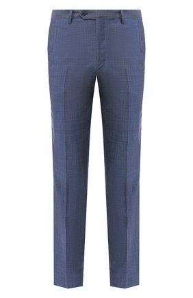 Мужской шерстяные брюки BRIONI синего цвета, арт. RPL20Q/P8A0X/M0ENA | Фото 1