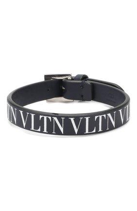 Кожаный браслет Valentino Garavani VLTN | Фото №1