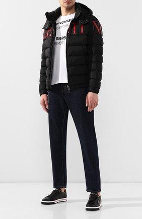 Мужская пуховая куртка valentino VALENTINO черного цвета, арт. SV3CNA705AT | Фото 2