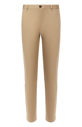 Мужской хлопковые брюки BURBERRY бежевого цвета, арт. 8009467 | Фото 1