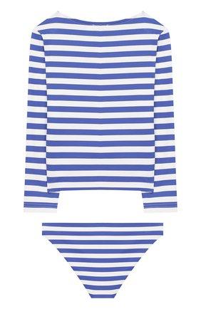 Детского раздельный купальник NATAYAKIM синего цвета, арт. NY-070/19K   Фото 2
