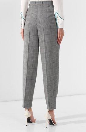 Шерстяные брюки Givenchy серые | Фото №4