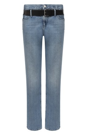 Женские джинсы с поясом RTA голубого цвета, арт. WS9132-224CLEAN | Фото 1