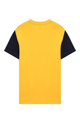 Детская хлопковая футболка POLO RALPH LAUREN желтого цвета, арт. 323738508 | Фото 2