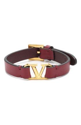 Кожаный браслет Valentino Garavani | Фото №1