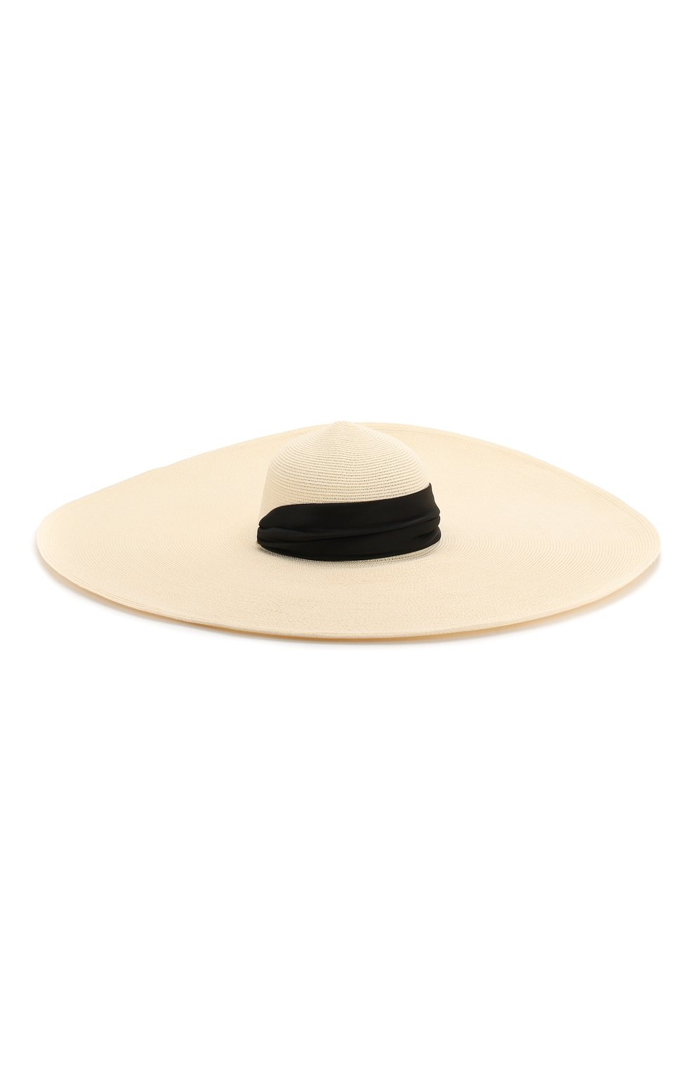 Шляпа Veruschka Eugenia Kim кремвого цвета | Фото №2