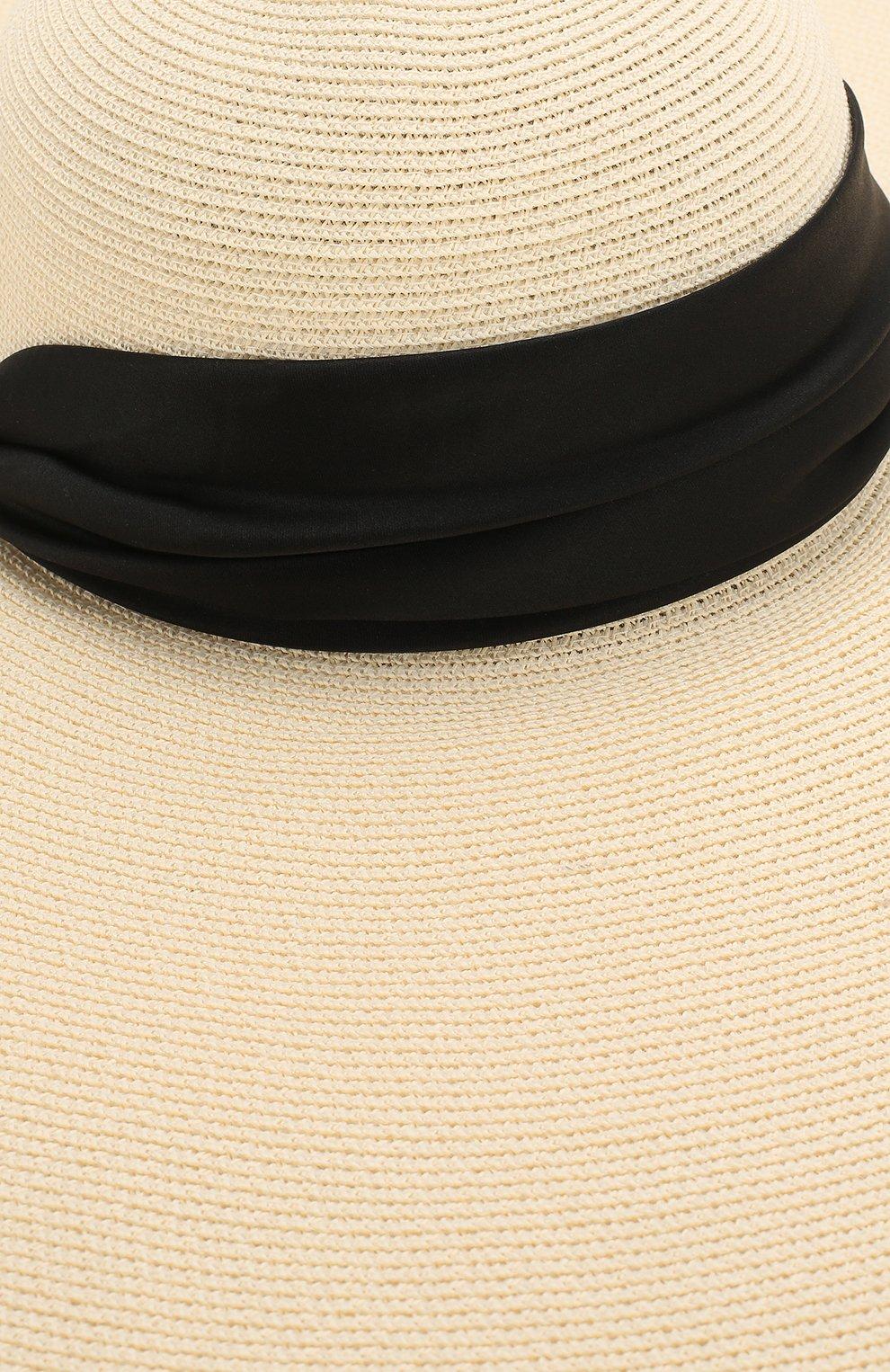 Шляпа Veruschka Eugenia Kim кремвого цвета | Фото №3
