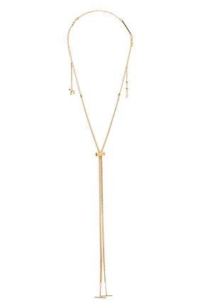 Женская цепь femininities для солнцезащитных очков CHLOÉ золотого цвета, арт. CHC18AF003CB7 | Фото 1