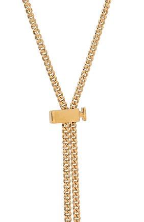 Женская цепь femininities для солнцезащитных очков CHLOÉ золотого цвета, арт. CHC18AF003CB7 | Фото 2