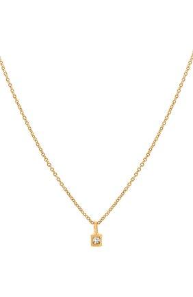 Женское колье mine HANKA_IN золотого цвета, арт. MIN-C0-CAR-CZ | Фото 2