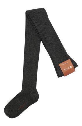 Женские колготки LORO PIANA темно-серого цвета, арт. FAC5023 | Фото 1