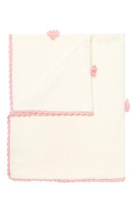 Детского хлопковое одеяло BABY T розового цвета, арт. 19PE112C0 | Фото 1