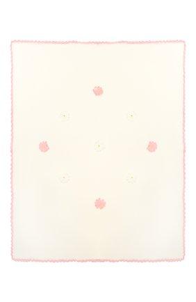 Детского хлопковое одеяло BABY T розового цвета, арт. 19PE112C0 | Фото 2