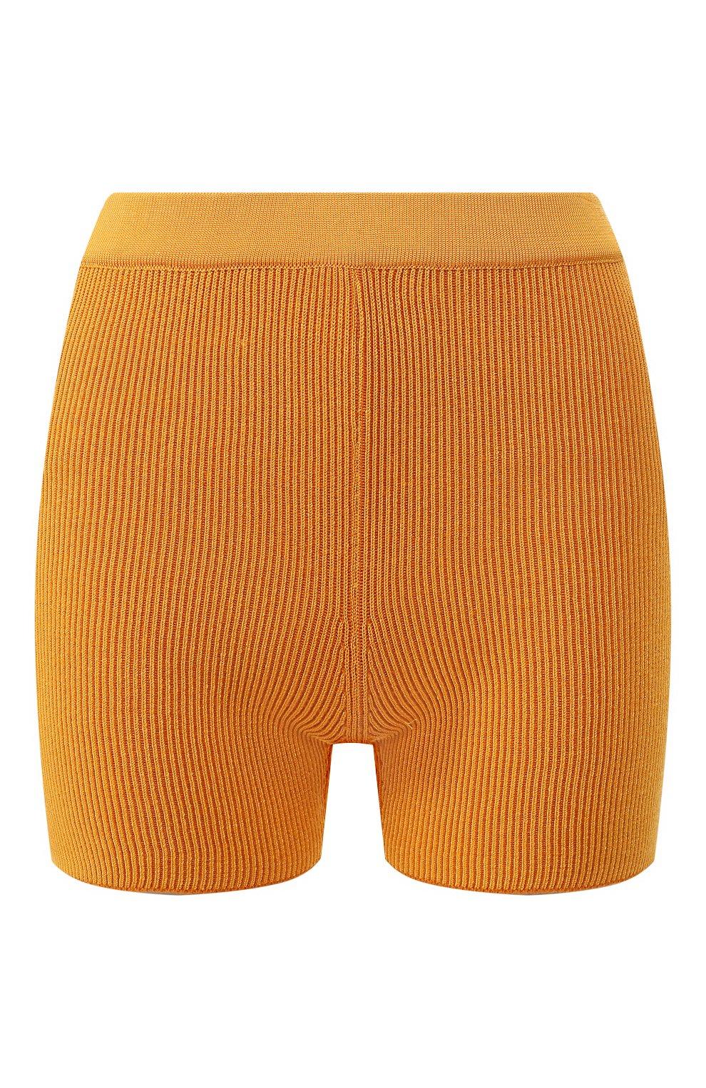 Женские шорты JACQUEMUS оранжевого цвета, арт. 192KN18/42751 | Фото 1