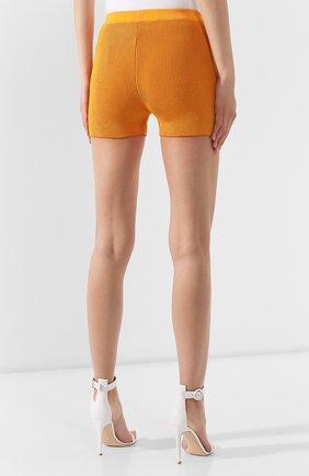Женские шорты JACQUEMUS оранжевого цвета, арт. 192KN18/42751 | Фото 4