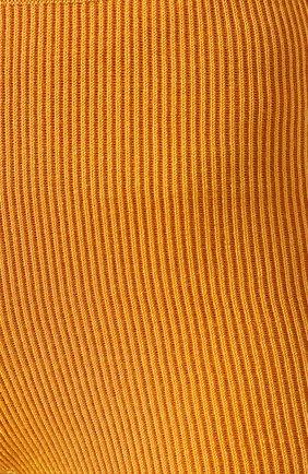 Женские шорты JACQUEMUS оранжевого цвета, арт. 192KN18/42751 | Фото 5
