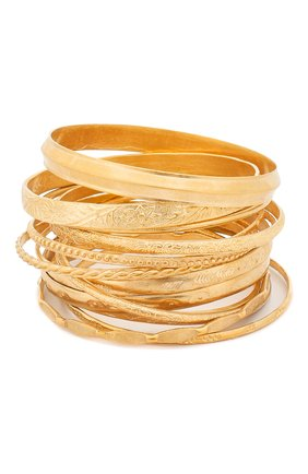 Мужской набор браслетов UNDERCOVER золотого цвета, арт. UCW4A01   Фото 2