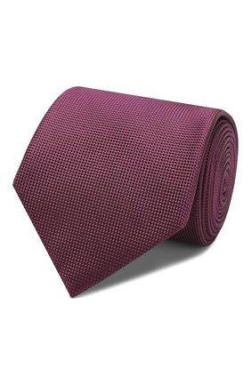 Мужской шелковый галстук BRIONI фиолетового цвета, арт. 062I00/08436 | Фото 1