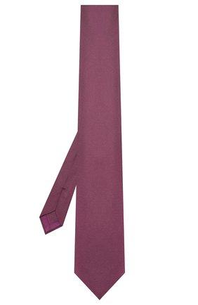 Мужской шелковый галстук BRIONI фиолетового цвета, арт. 062I00/08436 | Фото 2