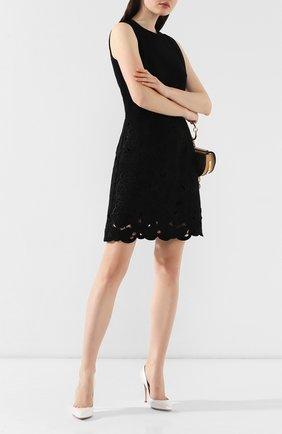Женская кожаные туфли gianvito 105 GIANVITO ROSSI белого цвета, арт. G28470.15RIC.AURBIAN   Фото 2