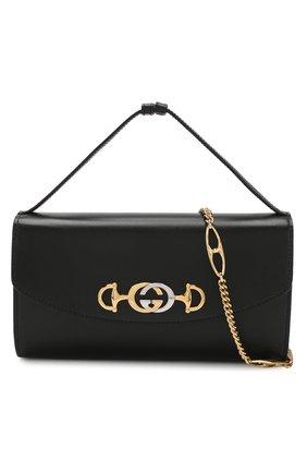 Сумка Gucci Zumi small Gucci черная цвета | Фото №6
