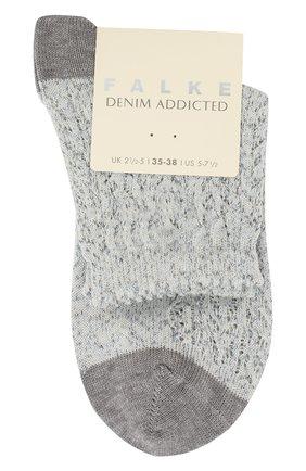 Женские носки denum crosh.ss  FALKE белого цвета, арт. 46305_19_ | Фото 1