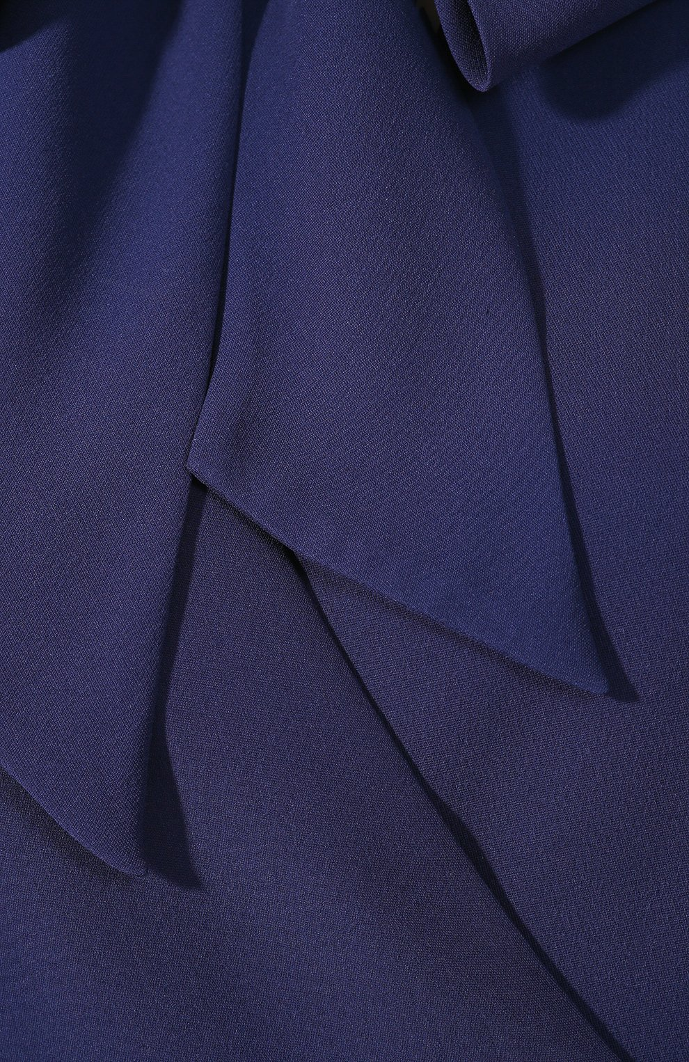 Шелковое платье Valentino темно-синее   Фото №5