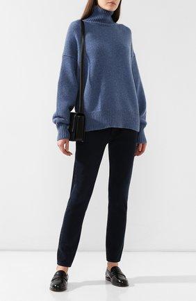 Кашемировый пуловер с высоким воротником | Фото №2