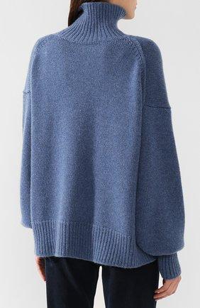 Кашемировый пуловер с высоким воротником | Фото №4